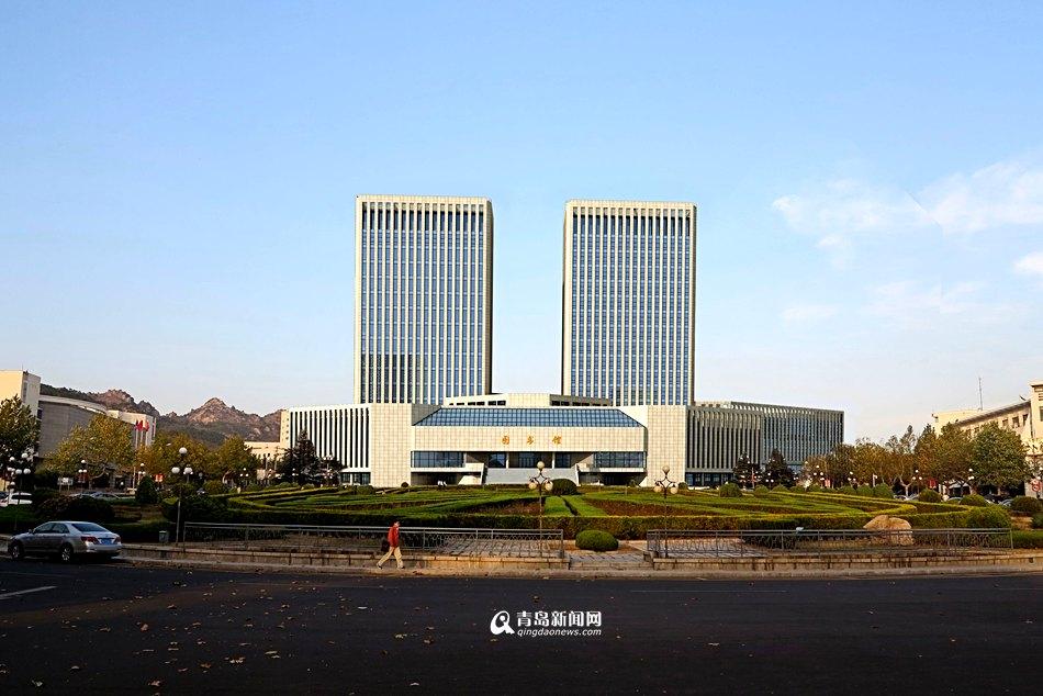 青岛大学科研中心主体封顶 2018年建成(组图)