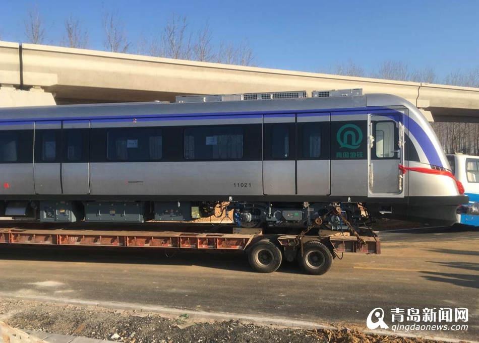 靓! 地铁11号线列车亮相 时速创国内之最 - 青岛新闻网