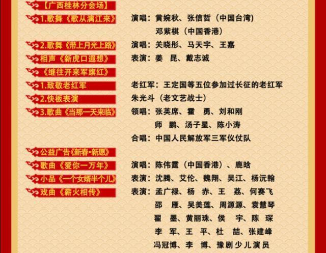 央視雞年春晚節目單正式公布 有你的愛豆嗎? - 青島圖片