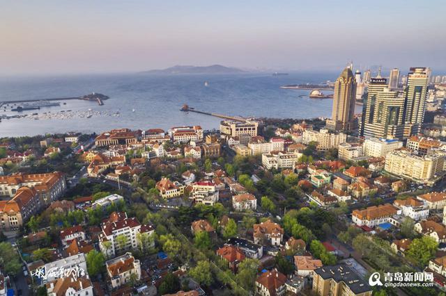 高清:青岛老城区有多美 航拍达人晒唯美大片