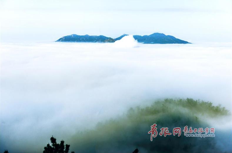 实拍五月崂山云雾大片 仙山秘境叹为观止 - 青岛新闻网
