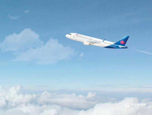 20分郑州起飞,18:05到达青岛流亭国际机场