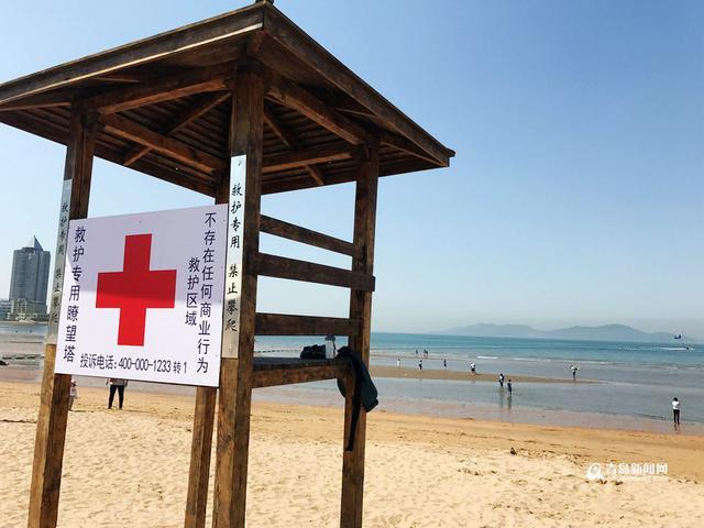 青岛第一海水浴场6月1日提前开放