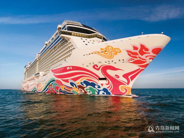 大游轮_亚洲最大游轮亮相青岛 打造海上头等舱