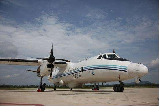 最强海监飞机b-5002入列 航程覆盖南海全部空域