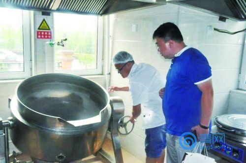 食堂视频标准化后厨装2000视频直播给娃炒菜书转学校图片