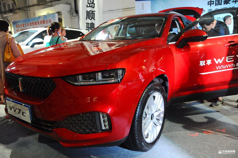 长城高端品牌WEY-实拍夏季惠民车展 国产SUV强势抢镜高清图片