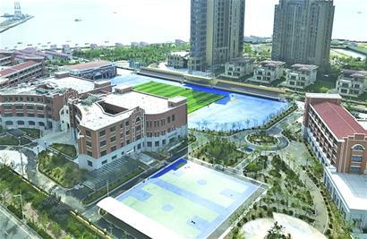 欢乐滨海城学校下月启用 设小学48班初中24班 - 青岛