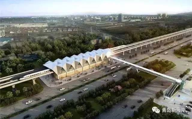 黄岛规划建5条地铁线 还有这些道路要打通