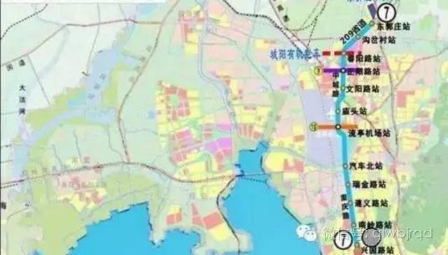 沿线主要经过胶东国际机场