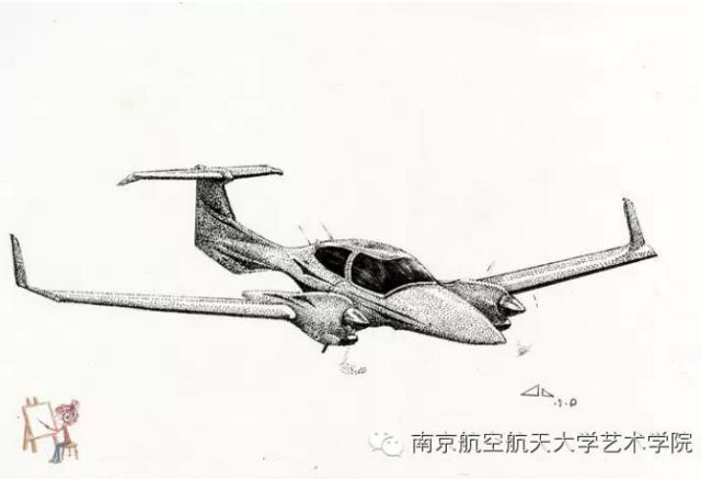 组图:绘翅膀的女孩 南航女生绘飞机惊艳网友