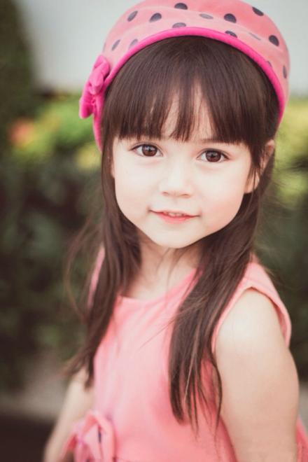 5岁的她是泰国十大童星之一